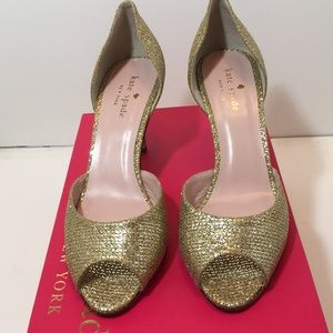 Kate Spade Gold Starlight Special Occasion Shoes